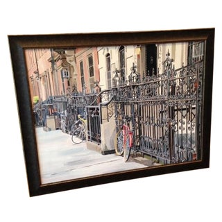 Manhattan Gates Original Acrylic Painting