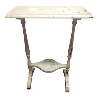 Vintage Double Wash Basin Table