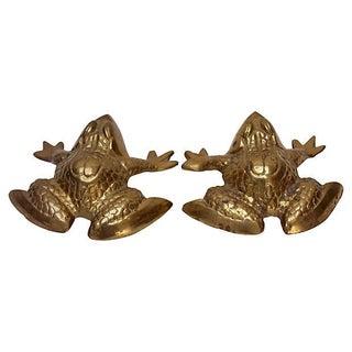 Brass Frogs - Pair
