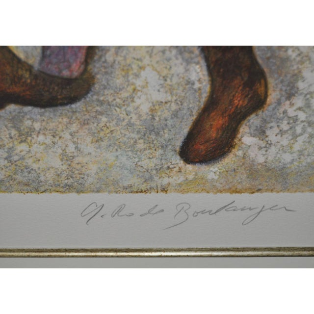 Graciela Rodo Boulanger Signed & Numbered Lithograph c.1980 - Image 7 of 9