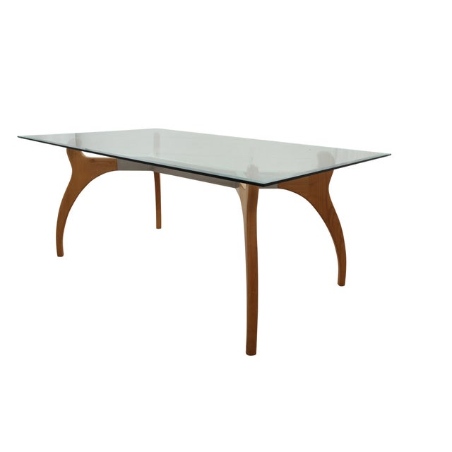 Mid Century Modern Glass Table - Image 5 of 7