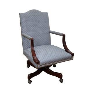 Hickory Chair Mahogany Executive Desk Chair