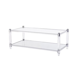 Blink Home Cocktail Table, Silver