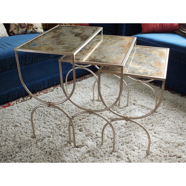 Mitchell Gold Bob Williams Nested Tables - Image 5 of 10