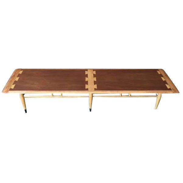 Lane Long Coffee Table: Lane Acclaim Dovetail Inlay Coffee Table