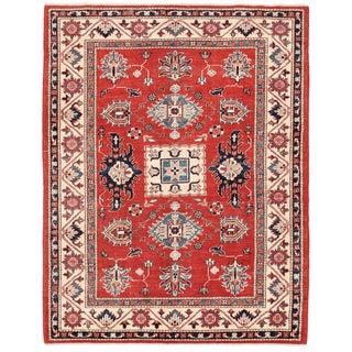 """Pasargad Kazak Wool Rug - 4' 10"""" X 6' 8"""""""