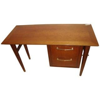Mid-Century Danish Modern Knee Hole Desk