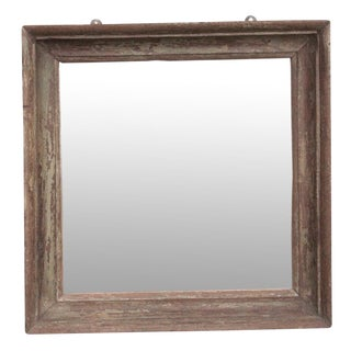 Rustic English Mirror