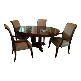 Ethan Allen Medallion Dining Set