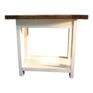 Farmstyle Custom Crafted Side Tables - A Pair