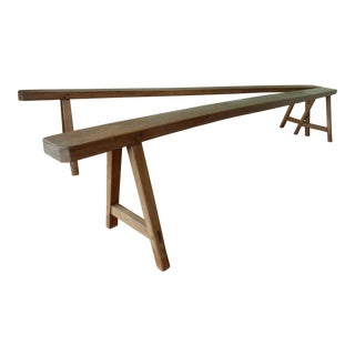 French Country Benches - A Pair