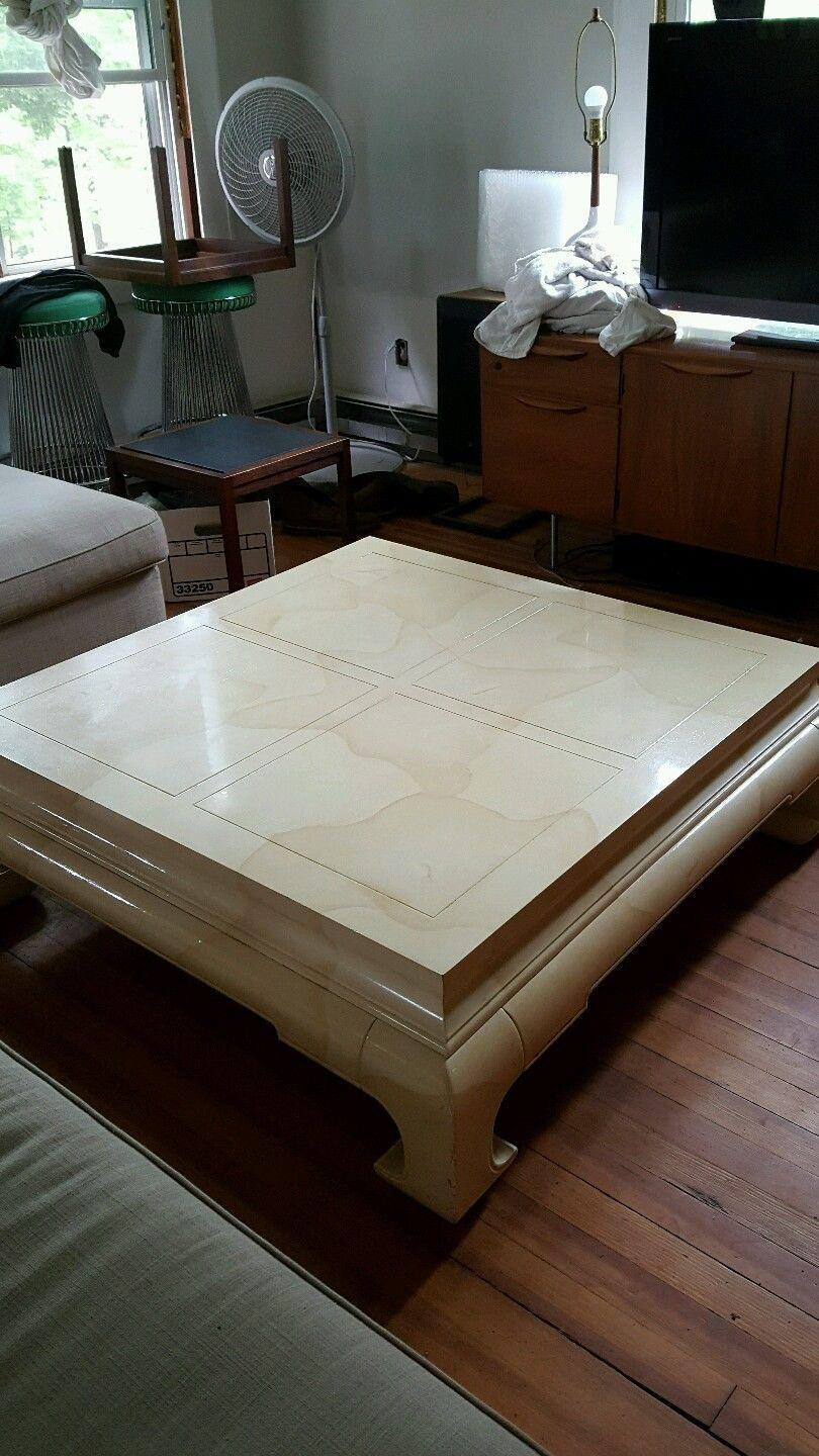 Vintage Ming Style Coffee Table by HenredonChairish