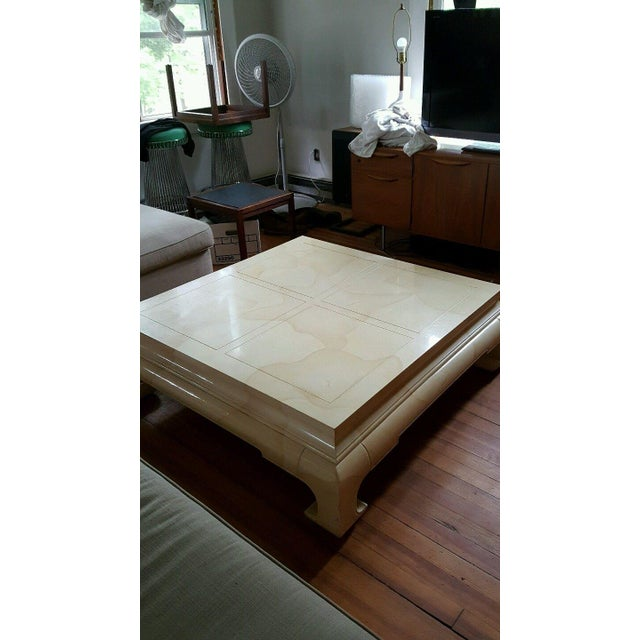 Vintage Ming Style Coffee Table by Henredon - Image 4 of 5
