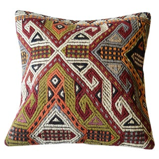 Pasargad Vintage Turkish Throw Pillow