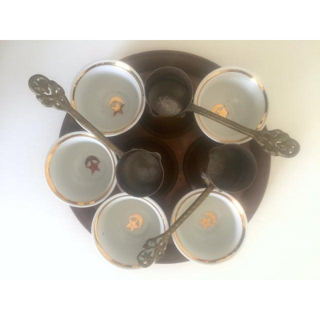 Turkish Bohemian Handmade Coffee Service - Image 3 of 10