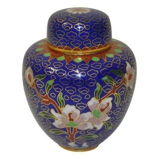 1960's Miniature Cloisonne Jar