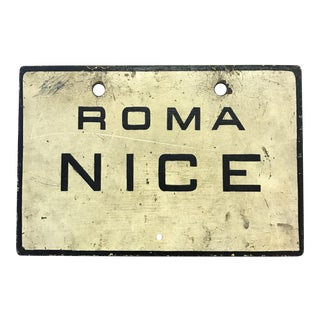 Roma-Nice European Sign