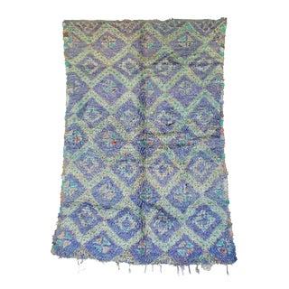 "Vintage Zayane Moroccan Rug, 5'11"" x 7'8"" feet"