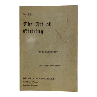 "1890 ""The Art of Etching"" Book"