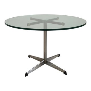 Round Glass Cocktail Table