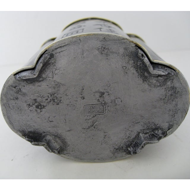 Image of Chinese Pewter Flask
