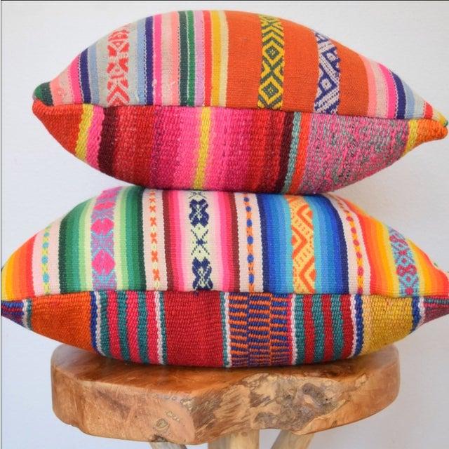 Decorative Peruvian Pillow - Image 4 of 4