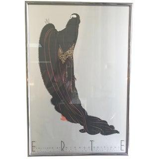 Erte Art Deco Print
