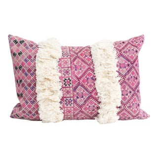 Vintage Chinese Wedding Quilt Pillow