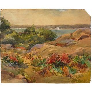 Original Watercolor Landscape Painting