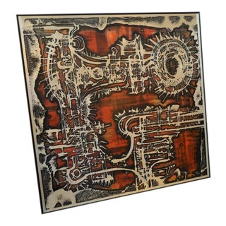Aluminum Acid Etched Bernhard Rohne Wall Art