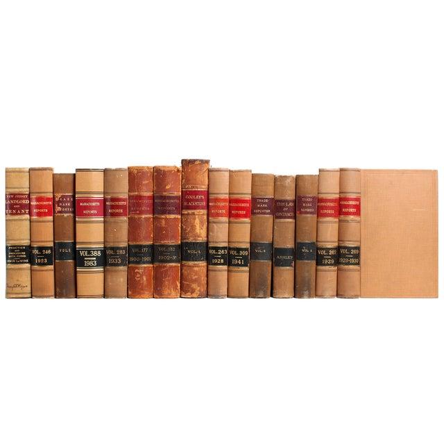 Vintage Distressed Law Books - Set of 15 - Image 2 of 2