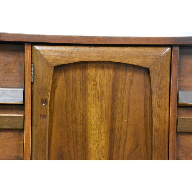 Image of Walnut Long Bassett Dresser