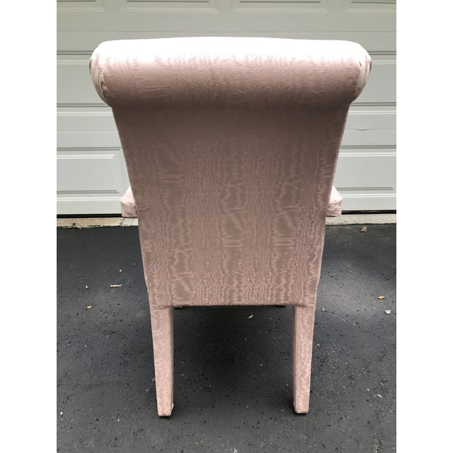 Pink Parsons Armchair - Image 5 of 6