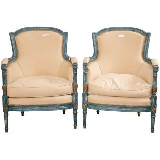 Louis XVI Style Chairs by Maison Jansen - A Pair