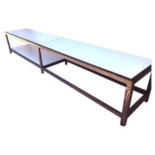 """Edward Wormley """"Dunbar"""" Ash & Laminate Table"""
