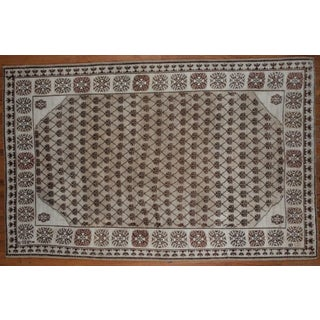Antique Oushak Rug - 6′1″ × 9′7″