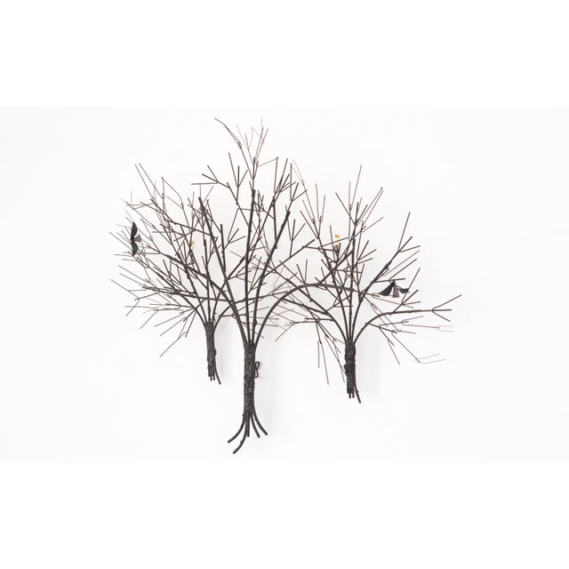 C. Jere Wall Sculpture 'Birds & Trees' - Image 7 of 8