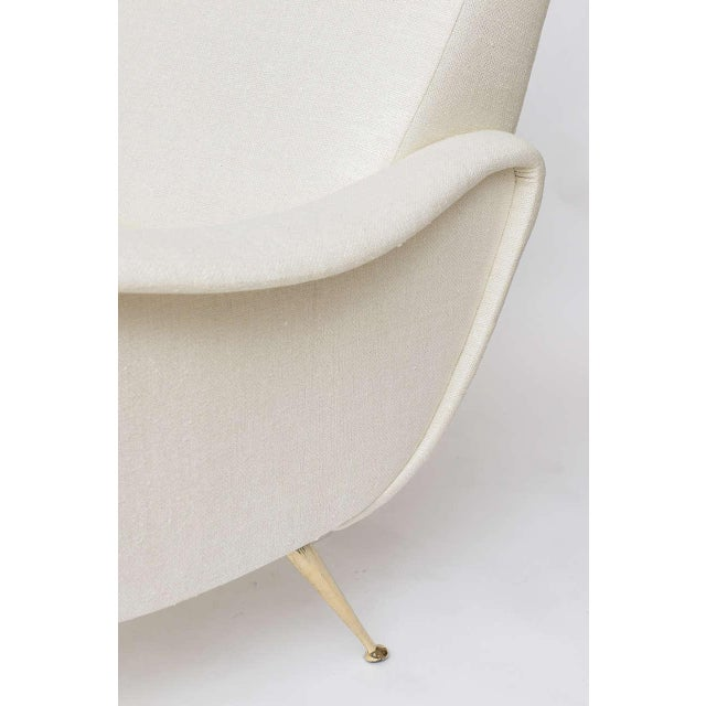Image of Stripe's Custom Italian-Inspired Settee