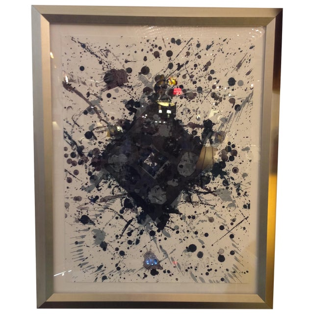 Image of Sam Francis Abstract Lithograph