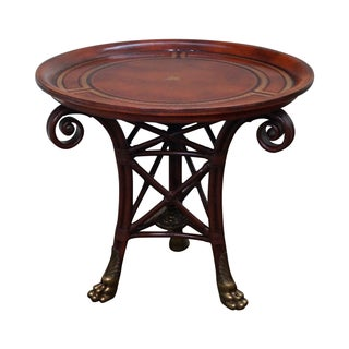 Maitland-Smith Regency-Style Round Table