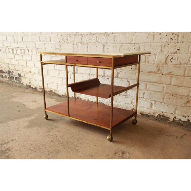 Paul McCobb for Calvin Irwin Collection Bar Cart - Image 3 of 11