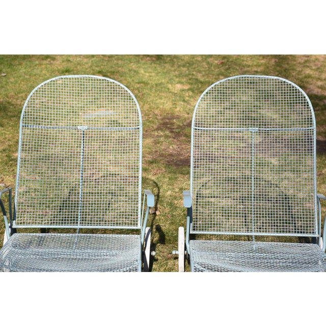 Russell Woodard Sculptura Patio Chaise Lounges - A Pair - Image 7 of 11