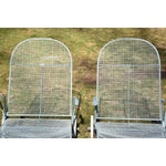Image of Russell Woodard Sculptura Patio Chaise Lounges - A Pair