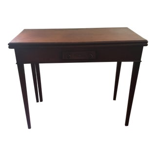 Card Table - Antique English Card Table