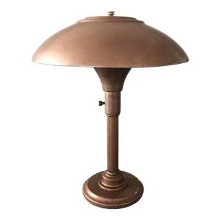 Mid-Century Copper Lamp