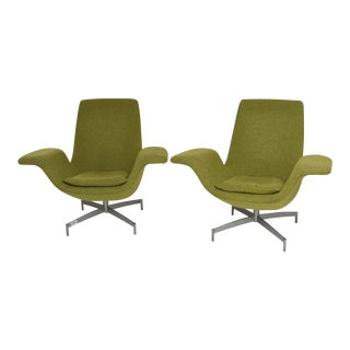 Pair of Hbf Furniture Dialogue Lounge Chairs