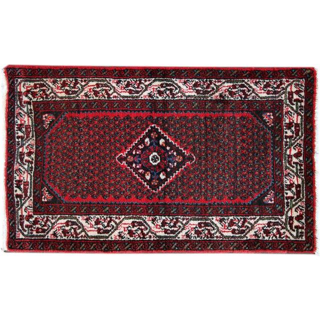 Image of Apadana - Vintage Red Hamadan Rug - 3' X 4'