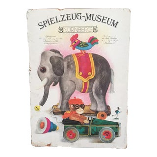 Spielzeug Museum Poster