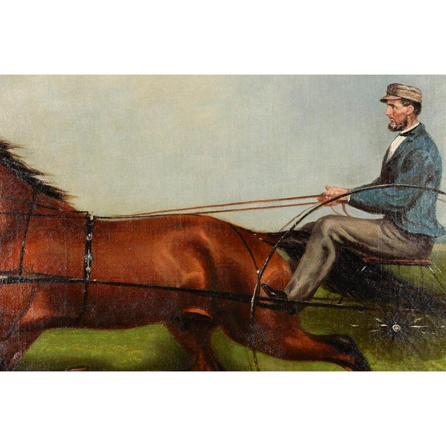 James Hill -19th Century Famous Horse Racing Oil Painting - Image 5 of 10