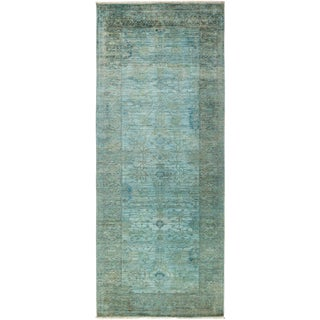 """Vibrance Hand Knotted Runner - 4'0"""" X 9'10"""""""